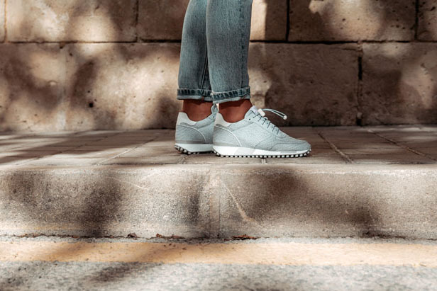 Giulia Base | Blauwe sneakers