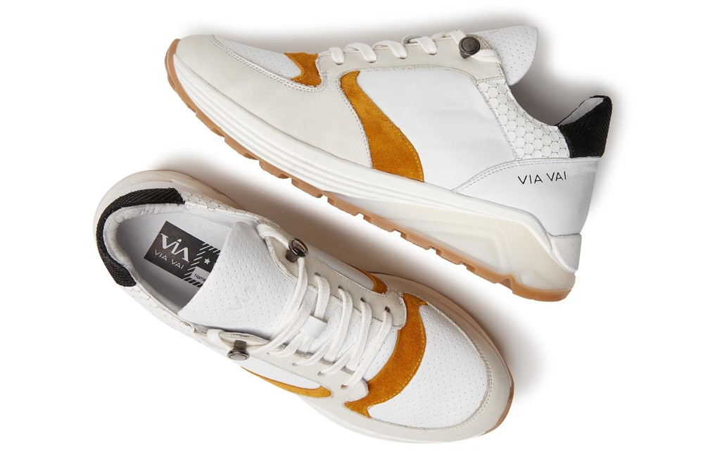 Swami Time | Witte sneakers