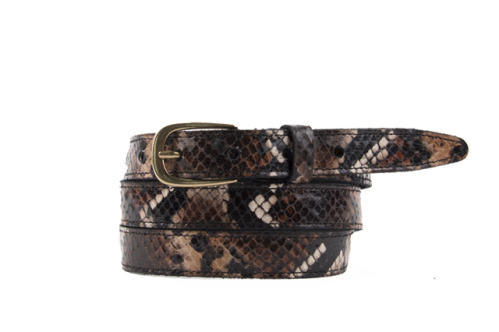 Kara Slash | Slangenprint riem
