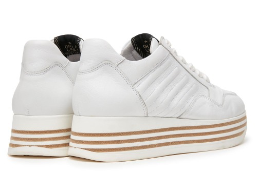Mila Bow | Witte sneakers