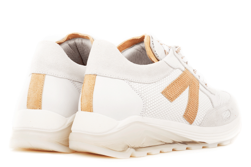 Swami Shift | Witte sneakers